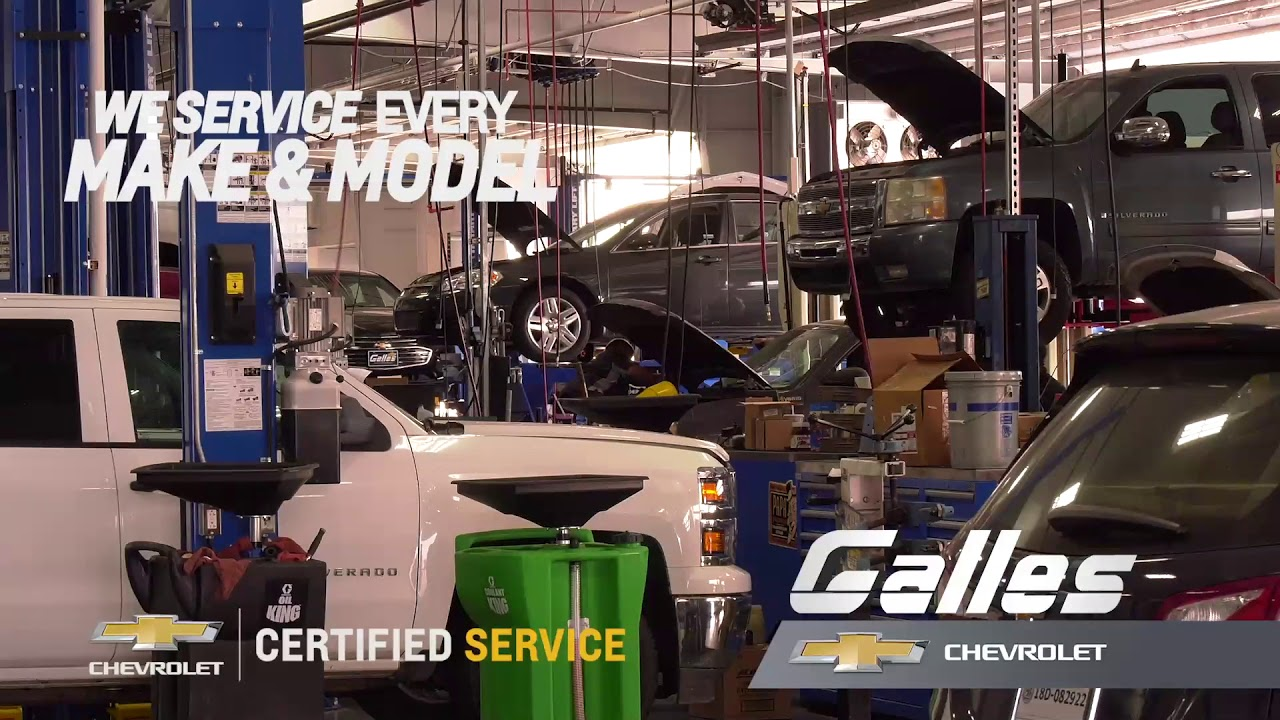Galles Chevrolet - Service 15 - YouTube