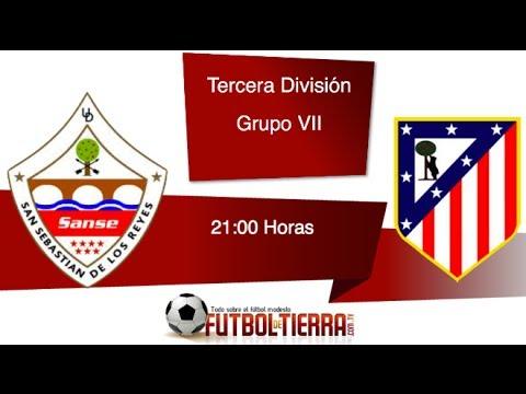 Ud San Sebastián De Los Reyes Vs Club Atlético De Madrid Youtube