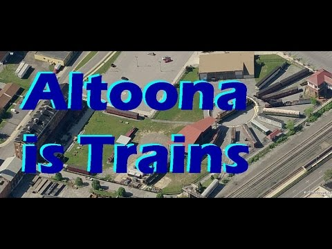 Altoona, - Trains, Planes, & Caves - Sightseeing SW Pennsylvania