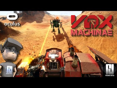 VOX MACHINAE VR - IS THIS THE MECH GAME WE HAVE BEEN WAITING FOR? // Oculus + Touch // GTX 1060