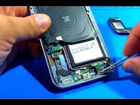 SAMSUNG G930F Galaxy S7 ЗАМЕНА ЗВОНКА (ДИНАМИКА)