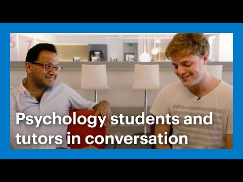 One to one - Goldsmiths Psychology students and tutors in conversation