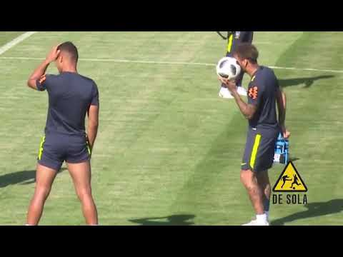 Marcelo and Neymar funny moments in training😂