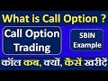 Call Option Trading in Share Market || Options Trading Basics for Beginners -