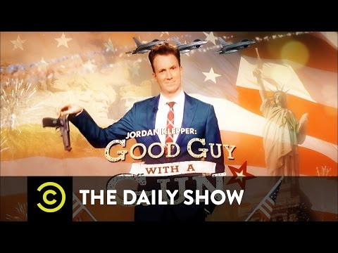 The Daily Show - Jordan Klepper: Good Guy with a Gun