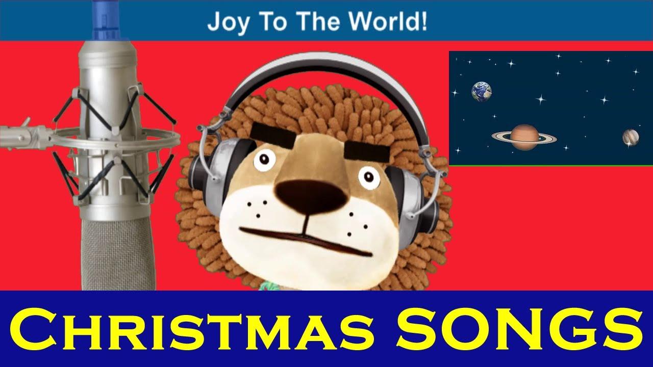 Animated Christmas Songs   Joy To The World   Kids Songs With Lyrics From SmileKids TV - YouTube