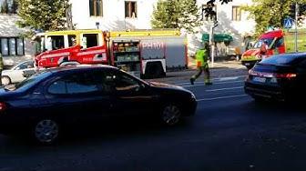 Tieliikenneonnettomuus Karjalankadulla Lahdessa