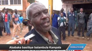 Ababaka basiibye balambula Kampala thumbnail
