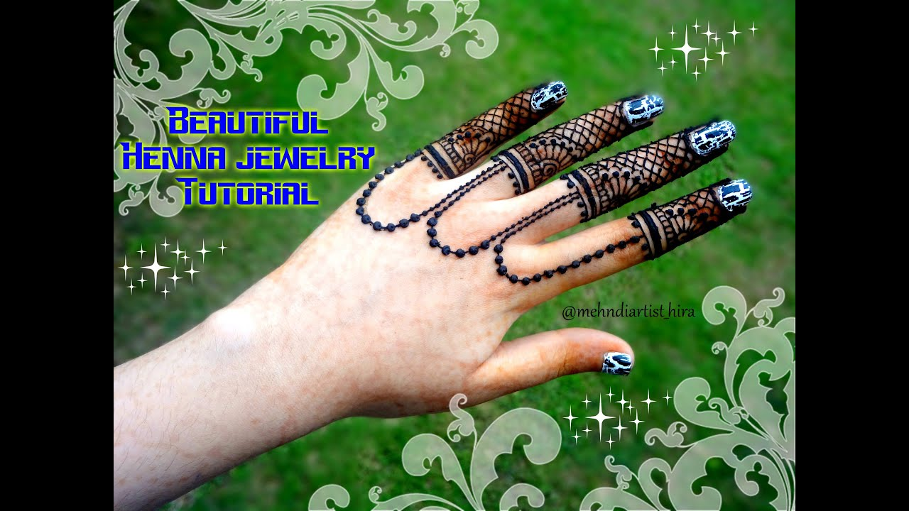 Mehndi Fingers Rating : How to apply easy simple beautiful mehndi designs for fingers