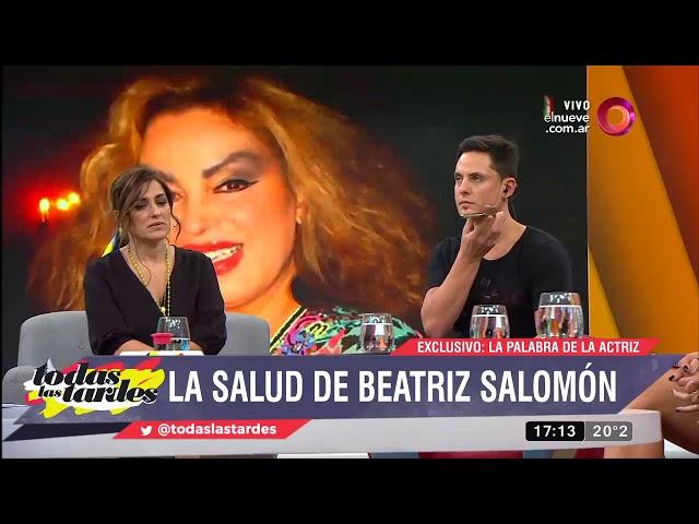 Beatriz Salomón habló de su salud