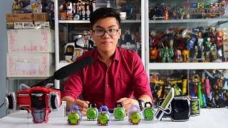 [TMT][258] Phân biệt DX, Candy Toy, Gashapon Lockseed - Kamen Rider Gaim! (Engsub)