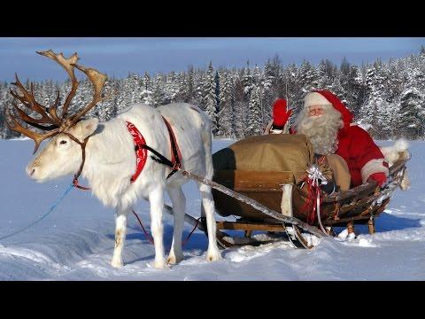 Video-Nachricht vom Weihnachtsmann aus dem Weihnachtsmanndor