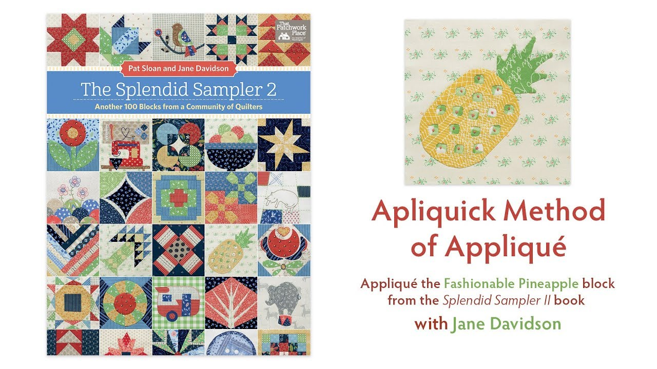 with 2 pullout pattern sheets The Splendid Sampler 2 Another 100 Blocks from a Community of Quilters