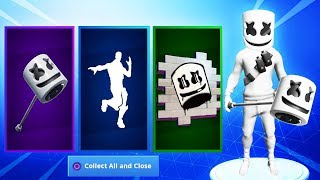 New FREE MARSHMELLO SKIN REWARDS in Fortnite..