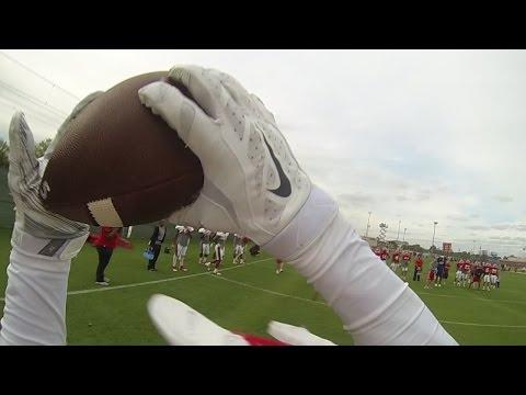 Houston Football: Receivers GoPro