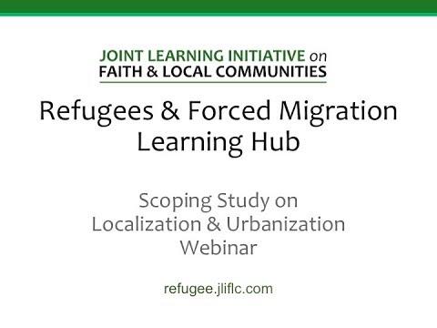 JLI Refugees & Forced Migration Learning Hub Webinar
