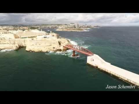 Valletta Malta 4k
