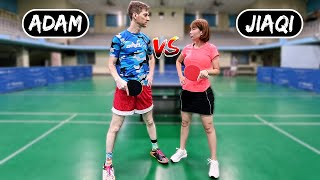 Semi-Pro Man vs. USA Champion Woman