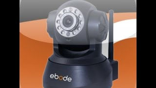 Ebode camera instructie video