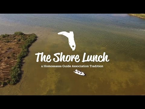The Shore Lunch ..... A Homosassa Tradition!