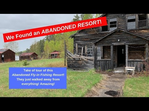 We Found An Abandoned Fishing Resort! Amazing!
