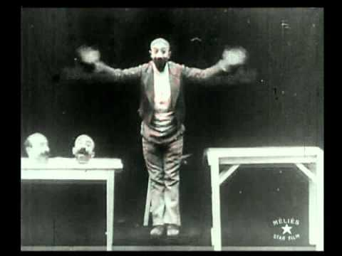 Georges Méliès -1898- Un homme de têtes (The Four Troublesome Heads)