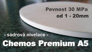 Samonivelační hmota Chemos Premium A5