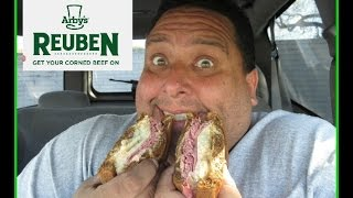Arby's® Reuben Sandwich Review!