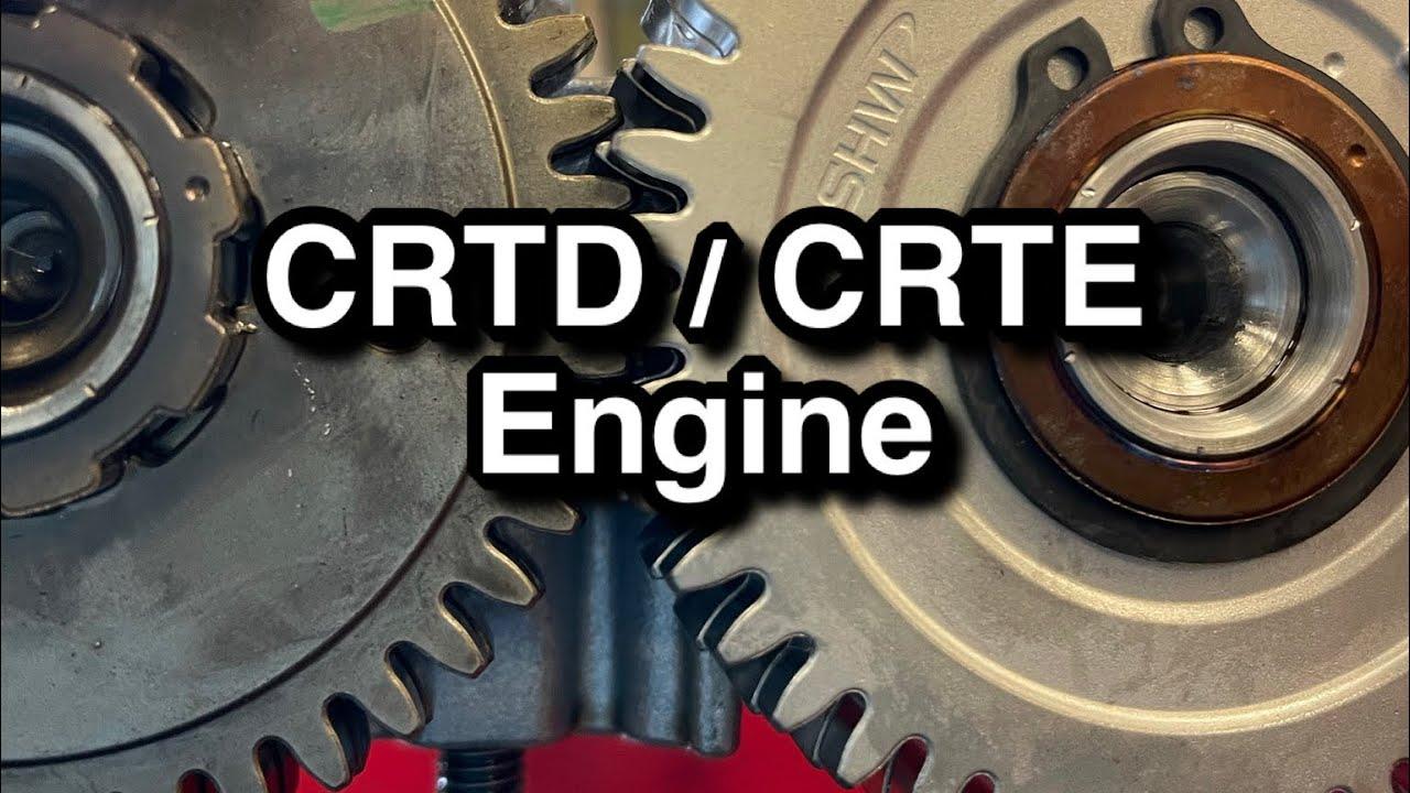 Audi 3.0tdi 160kw ja 200kw nukvõllidest CRTD, CRTE mootor