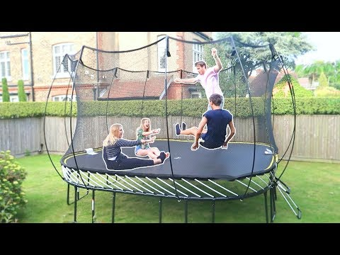 THE BIGGEST TRAMPOLINE YOU CAN BUY!