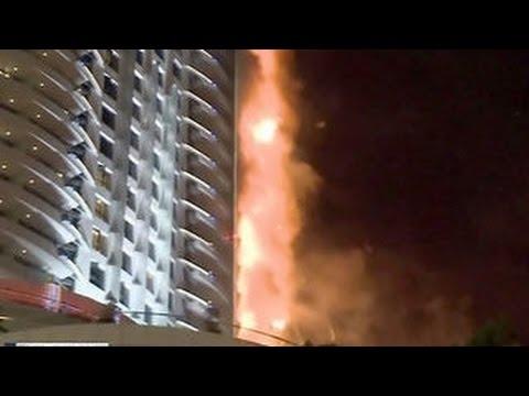 Пожар в небоскребе дубай английские таунхаусы