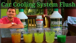 how to flush cooling system on car