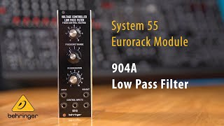 904A Voltage Controlled Low Pass Filter