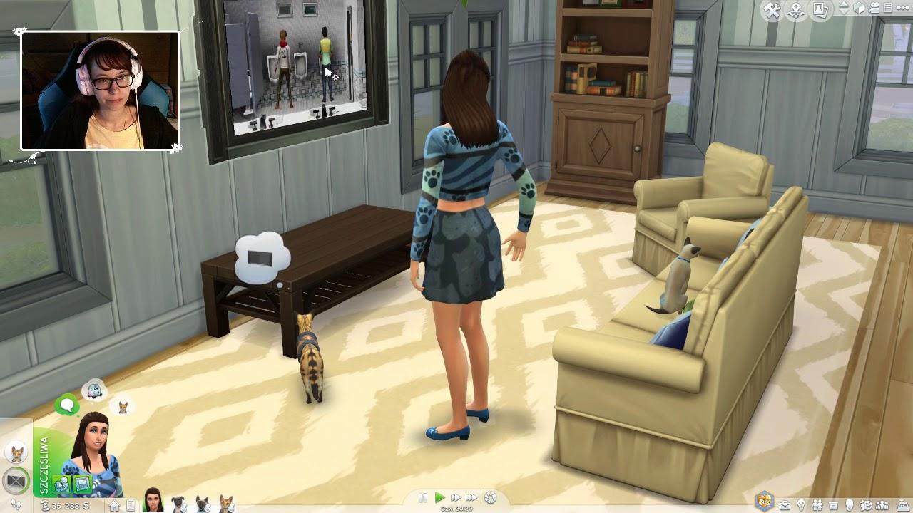 "[Archiwum] Live – The Sims 4 Psy i Koty! (1) – [2/2] – ""Związek bez szans"""