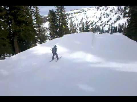 Erik Sambrailo Skiing Backflip at Kirkwood