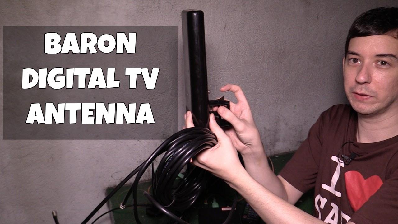 Baron Receiver Link Digital Tv Antenna Youtube Wiring Diagram