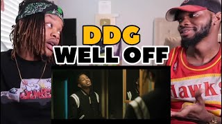 DDG - Well Off (Official Music Video | REACTION