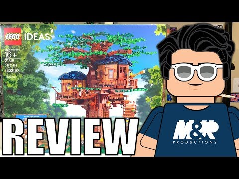LEGO Ideas 21318 Treehouse Review! The BEST Ideas Set Yet?