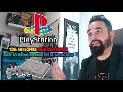 PLAYSTATION SACA DE VENTAJA 136 MILLLONES EN VENTAS A TODAS LAS CONSOLAS SOBREMESA DE NINTENDO