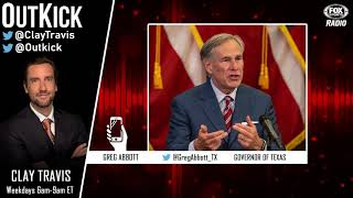 Texas Governor Greg Abbott endorses college football and NFL returning in Texas and fans at games