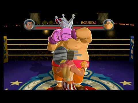 Punch Out Wii: King Hippo Challenges