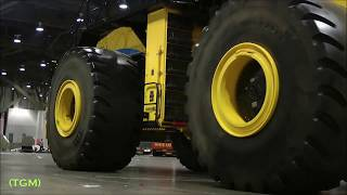 Loaders are incredibly large in size  Mega technique  The largest wheel loader in the world