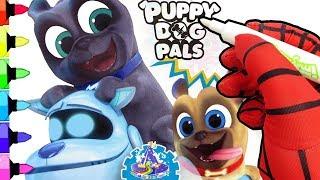 Marcador Mágico de Puppy Dog Pals de ImagineInk Rotulador Mágico de Bingo y Rolly de Puppy Dog Pals