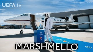 Marshmello headlines 2021 #UCL Final Opening Ceremony!   presented by Pepsi
