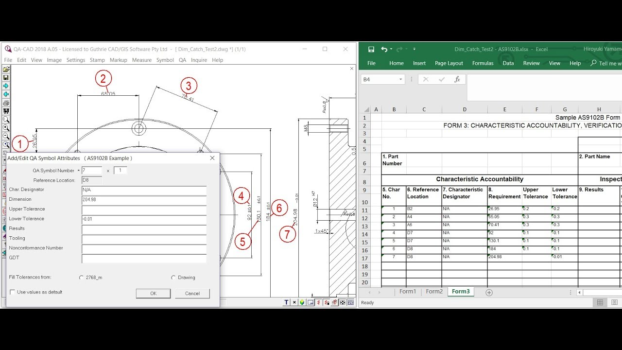 As9102 First Article Inspection Rev B Free Download Forms