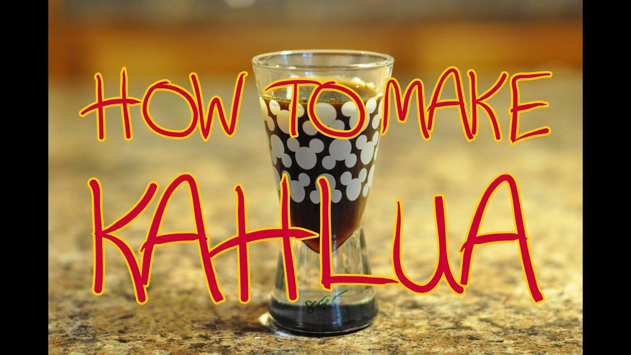 How To Make Kahlua (Coffee Liqueur) (Thirsty Thursday ...