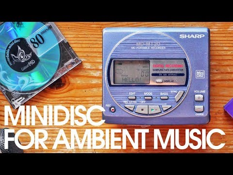 Minidisc - Techniques for Ambient/Experimental Music Production