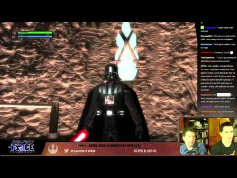 STAR WARS: THE FORCE UNLEASHED Ep 1 - Sam Witwer and David Collins