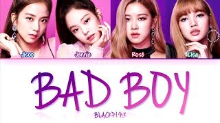 How Would BLACKPINK Sing 'BAD BOY' by RED VELVET (Eng/Rom/Han) (FANMADE)
