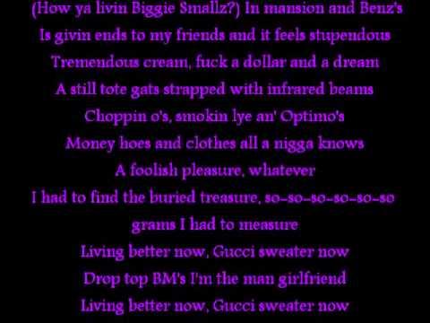 Big Poppa Lyrics By Mindless Self-Indulgence